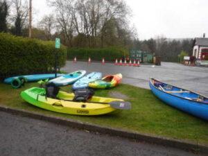 Paddlesport Instructor course @ Loch Lomond